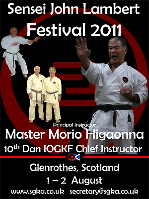 Master Higaonna in Scotland