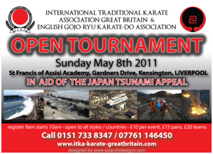 Joint Open tournament in support of the Japan Tsunami Appeal