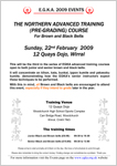 Northern Advanced Training Course Plain Flyer