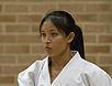 Elfrida Yanti - 2007 IOGKF Ladies Kumite World Champion - Bournemouth