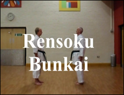 Link to YouTube video of Rensuku Bunkai